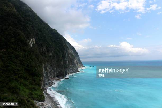 One month after Hualien earthquake, the local city's tourism significant contract on 11 March 2018 in Hualien, Taiwan, China.
