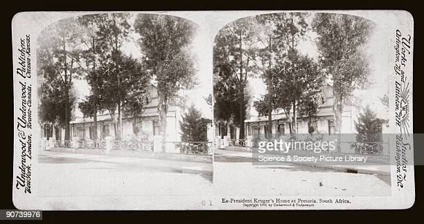 One of a boxed set of stereoscope photographs produced for sale to the general public by a professional firm of photographers, Underwood and...