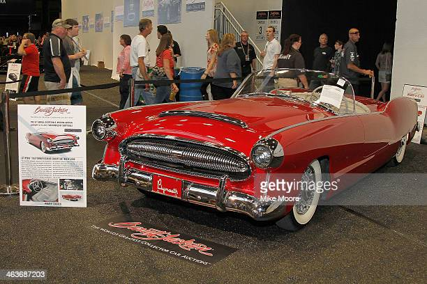 A one of a kind 1954 Plymouth Belmont Concept car is on display during the 43rd Annual BarrettJackson Scottsdale Auction at WestWorld of Scottsdale...