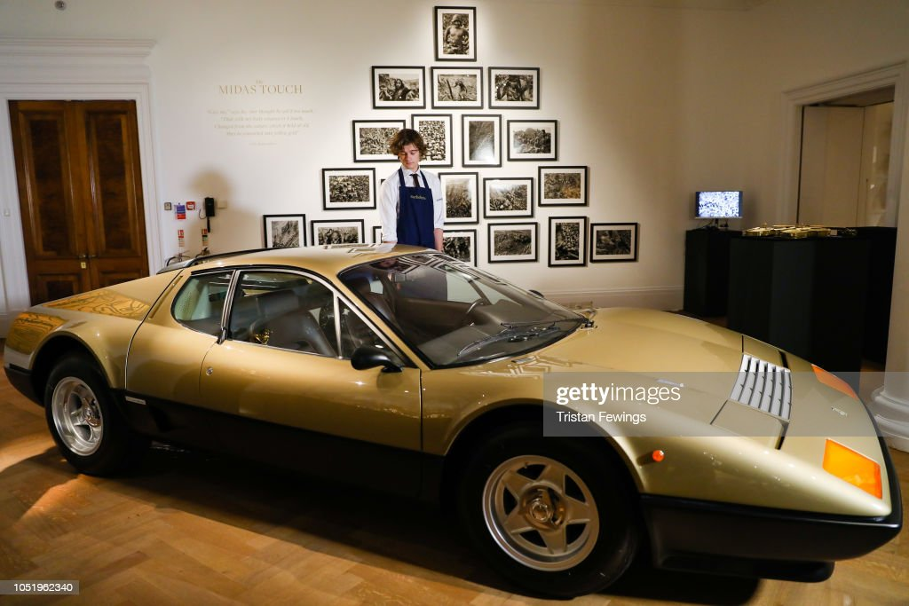 Sotheby's 'The Midas Touch' Press Call : News Photo
