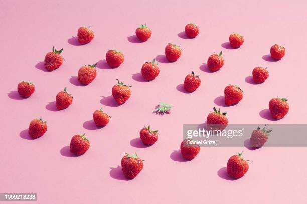 one of a kind - fruit stock pictures, royalty-free photos & images