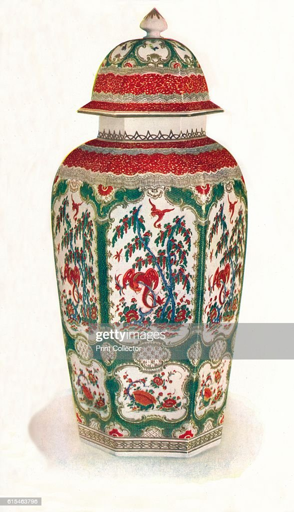 One Of A Pair Of Worcester Vases 1911 Pictures Getty Images