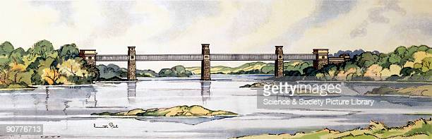 One of a series of railway carriage prints entitled 'Railway Architecture' by Kenneth Steel produced for British Railways London Midland Region The...