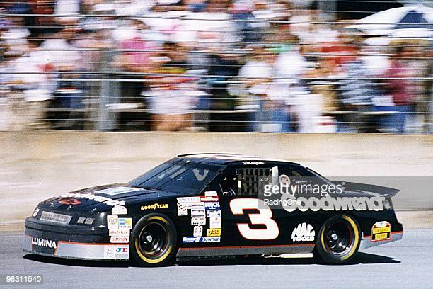 One of Dale Earnhardt's accomplishments in 1993 was to end a 10month winning drought with a victory at Darlington in March