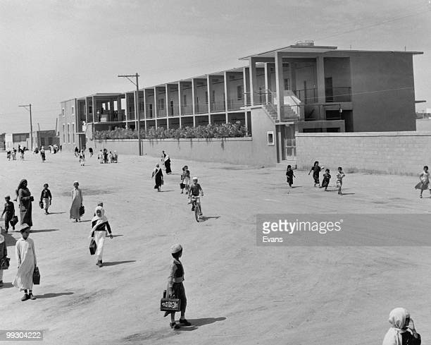 One of eleven primary schools built and maintained by the Arabian American Oil Company for the sons of its employees Saudi Arabia circa 1955