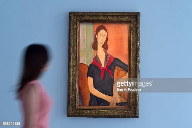 One of Finest Portraits by Amedeo Modigliani in Private Hands Jeanne Hzbuterne 1919 will be offered in Sotheby's Impressionist Modern Art Evening...