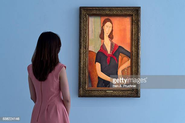 One of Finest Portraits by Amedeo Modigliani in Private Hands, Jeanne Hzbuterne , 1919 will be offered in Sotheby's Impressionist & Modern Art...