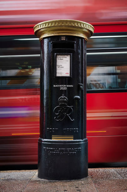GBR: Post Boxes Painted To Honour Black Britons During Black History Month