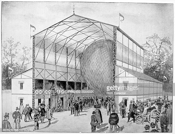 One of great attractions of Vincennes Paris 1900 A print from La Vie au Grand Air 6th May 1900