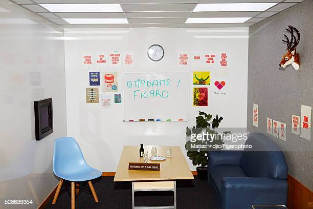 One of Instagram's offices is photographed for Madame Figaro on February 18, 2016 in New York City. CREDIT MUST READ: Matias...