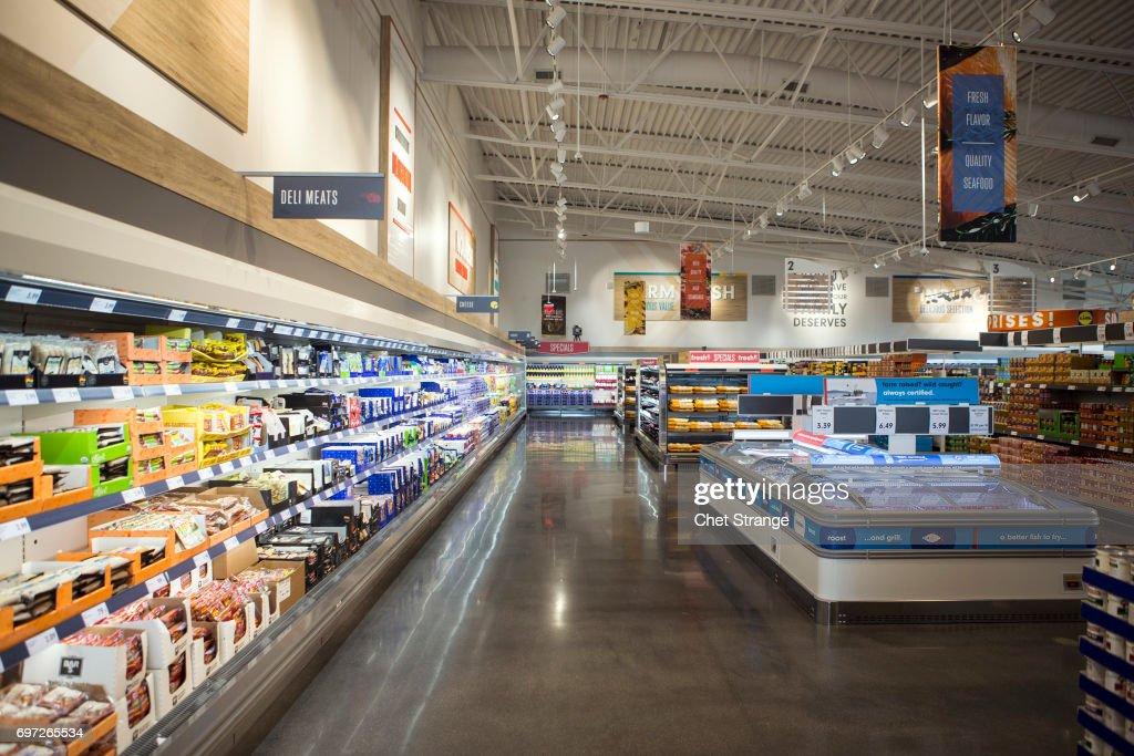 German Grocer Lidl Open Stores In U.S. : News Photo