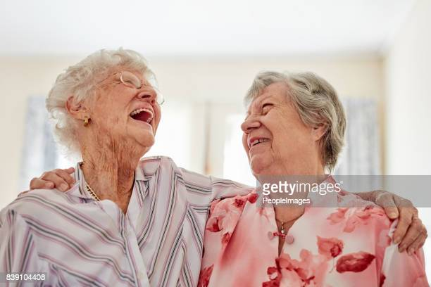 one of life's greatest pleasures, a good old friend - 80 89 years stock pictures, royalty-free photos & images