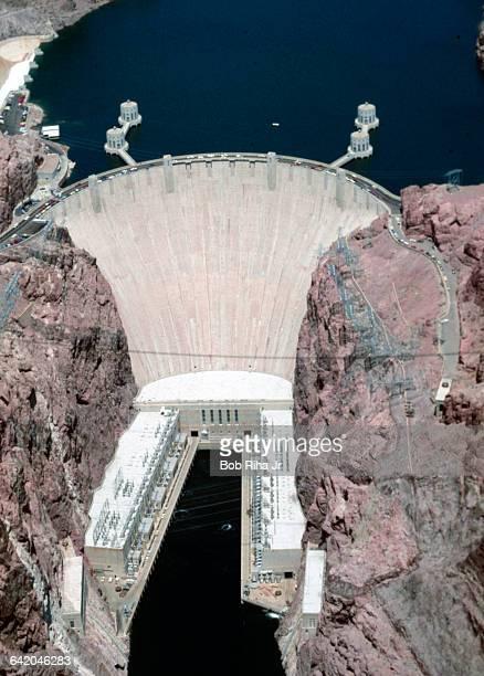 Hoover Dam Spillway Overflow 1983