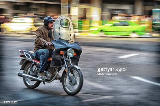 CONTENT] One of presumably millions of motorbikes of the same kind in Tehran Iran in early 2013
