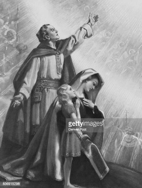 MAR 8 1956 MAR 11 1956 one of seven Frank O Salisbury paintings illustrating the immortal Lord's Prayer This one symbolizes the opening stanza T0ur...