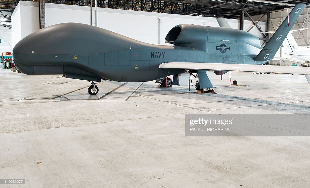 One of several the US Navy's Northrop Gr : News Photo