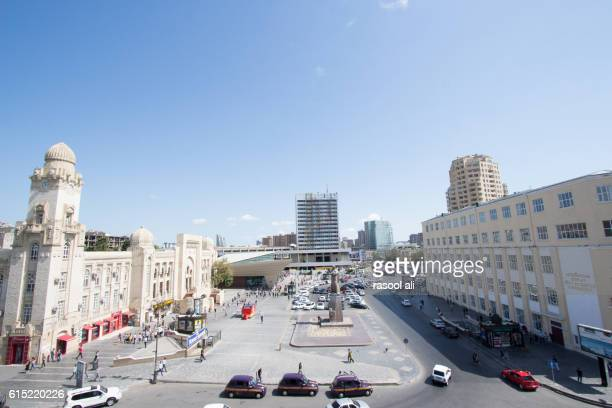 One of streets in baku