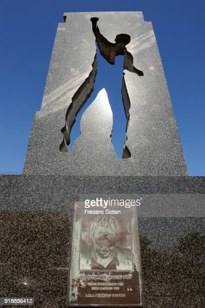 One of the 7 statues making up the Gugulethu Seven Memorial in Cape Town The Gugulethu Seven was an antiapartheid group of men between the ages of 16...