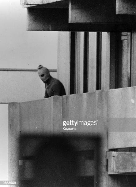One of the Black September guerrillas who broke into the Munich Olympic Village killed two members of the Israeli team and took nine others hostage...
