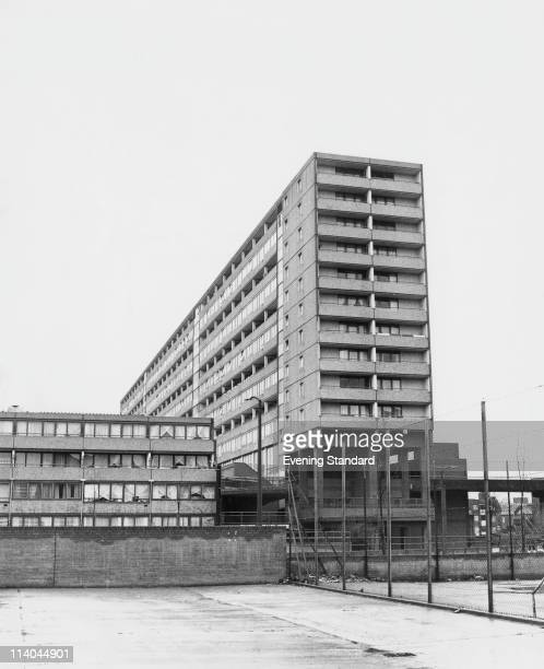 One of the blocks on the Aylesbury Estate in Walworth South East London 20th December 1978 Built in 1963 the housing estate is the largest in Europe
