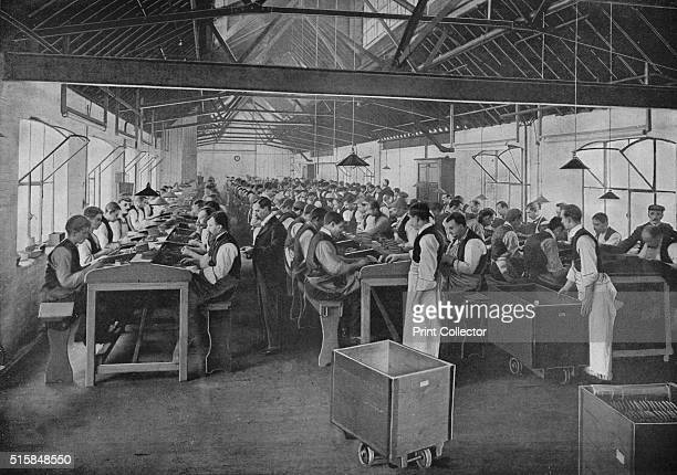 One of the cigar manufacturing departments at Salmon and Gluckstein Ltd London circa 1870s Salmon Gluckstein was a British tobacco company founded in...