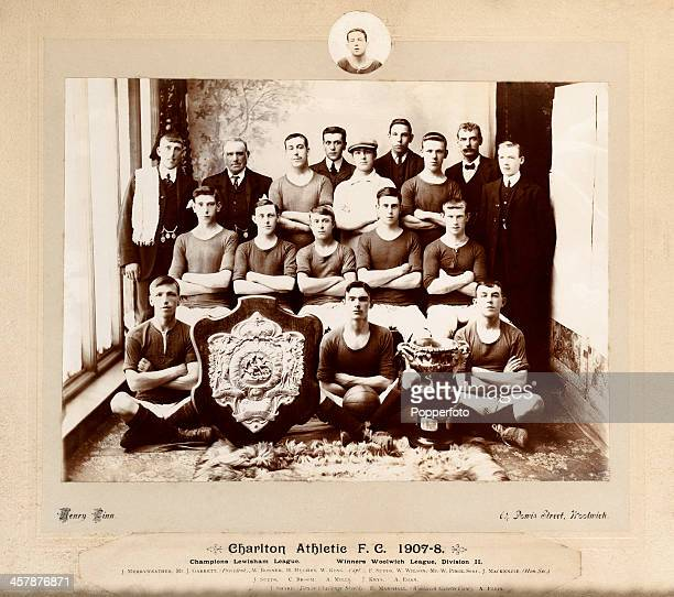 One of the earliest original photographs of Charlton Athletic Football Club in the Club's third season with the Lewisham League and Woolwich League...
