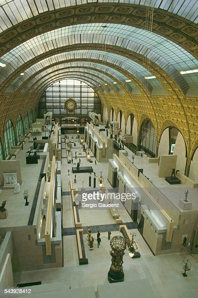 One of the exhibition halls of the Musee d'Orsay