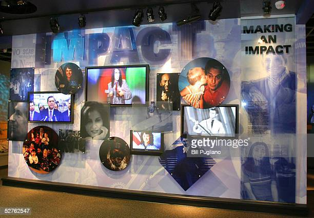"""One of the exhibits in the """"Making An Impact"""" section of the new Arab American National Museum is ready for the grand opening May 5, 2005 in..."""