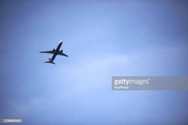 One of the faw airplane to take off today at the ToulouseBlagnac airport in Toulouse France on April 1 2020 As the Covid19 massive outbreak concerns...
