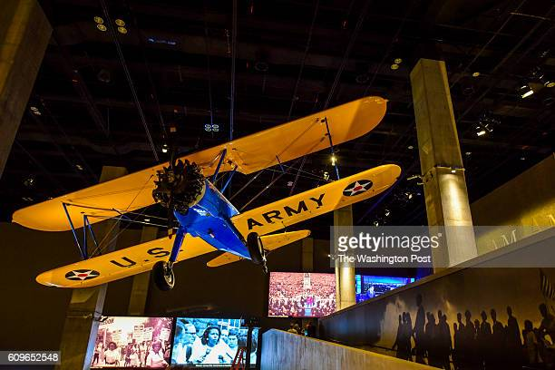 One of the few surviving planes that were used to train the Tuskegee Airmen is housed at the Smithsonian Institute's National Museum of African...