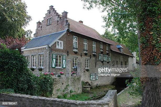 One of the few wellpreserved watermills in the Woluwe valley east of Brussels
