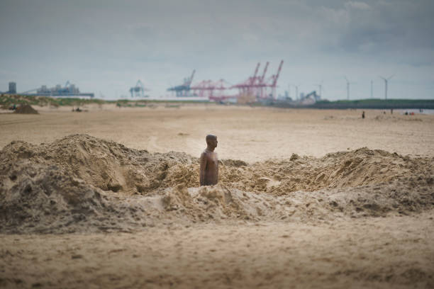 GBR: Gormley's 'Another Place' Statues Removed For Overhaul And Realignment
