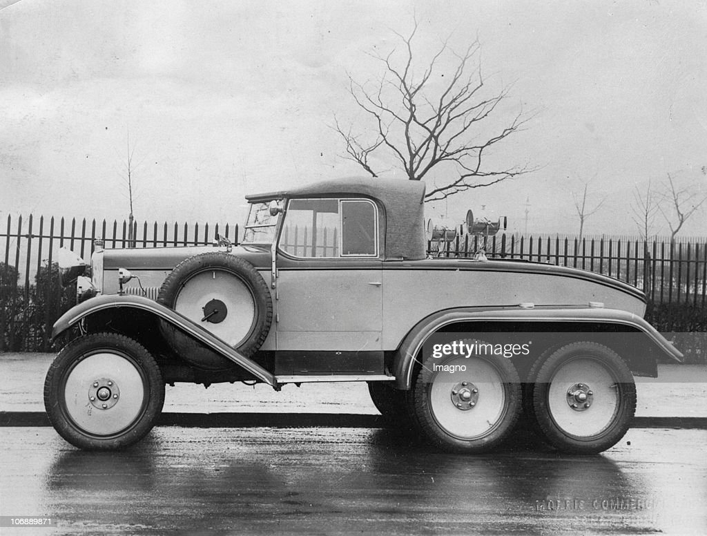 One of the first all-terrain vehicles for private use, made by ...