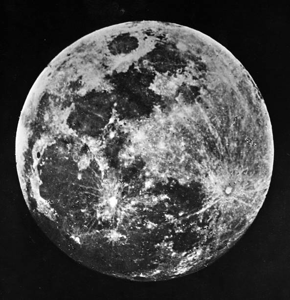 One of the first ever pictures of the moon taken by...