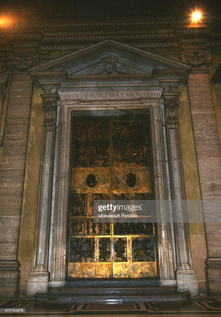 \u0027One of the five doors of Saint Peter\u0027s Basilica the Door of Good and. \u0027 & The Door of Good and Evil by Luciano Minguzzi Pictures | Getty Images