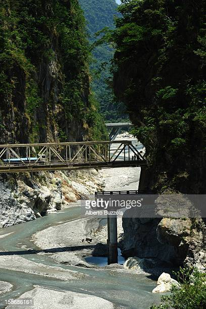 One of the gorges at Taroko National Park, the country's most visited spot. The creation of the park goes back to 1937 when the Japanese government,...