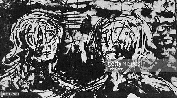 MAR 18 1975 MAR 20 1975 MAR 23 1975 One of the Henry Moore lithographs from the suite of prints Auden Poems/Moore Lithographs at Randi's Art Gallery...