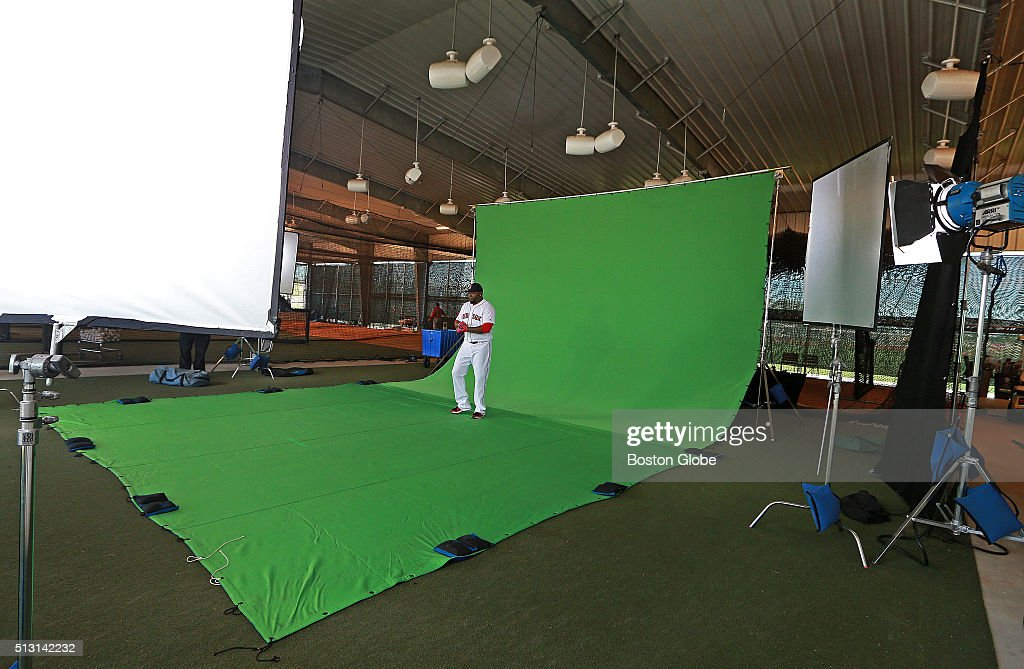 One Of The Indoor Batting Cages Is Covered With A Giant Green Backdrop To  Shoot Videos