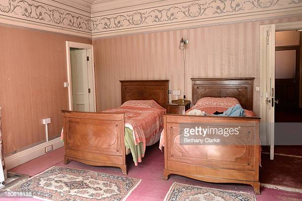 One of the ladies bedrooms in Pineheath house on September 4 2013 in Harrogate England The untouched 40bedroom house belonged to wealthy Indianborn...