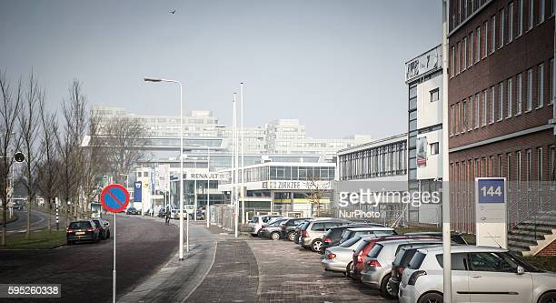 One of the large buildings rented by a now bankrupt community college in Leiden is seen on February 16 2015 The ROC community college in Leiden has...