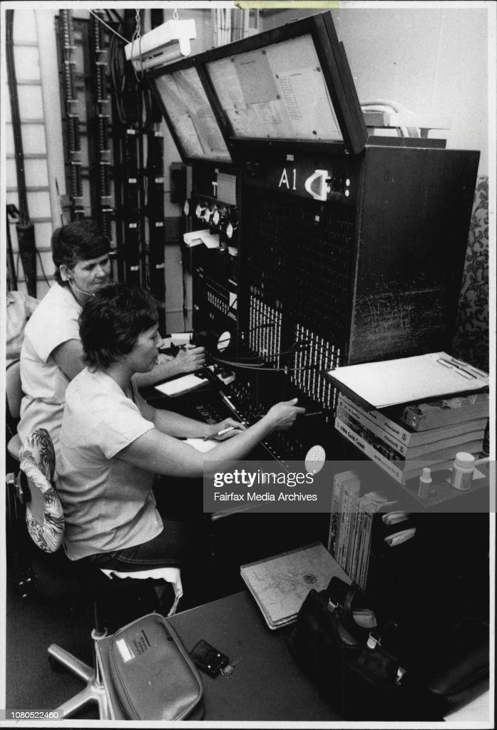 One Of The Last Remaining Operative Telephone Exchange In News Photo Getty Images