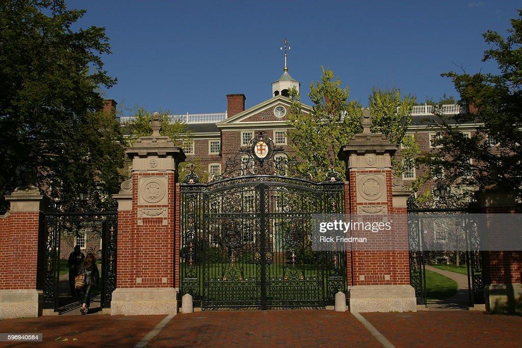 Brown University Campus : News Photo
