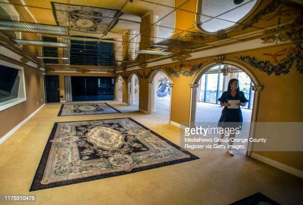 One of the many interior rooms in the former Trinity Broadcasting Network building located on Bear Street and the 405 freeway in Costa Mesa, across...