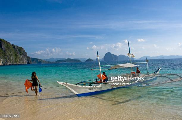 EL NIDO PALAWAN PHILIPPINES One of the many islands of El Nido archipelago El Nido is a municipality located at the northwestern tip of the province...