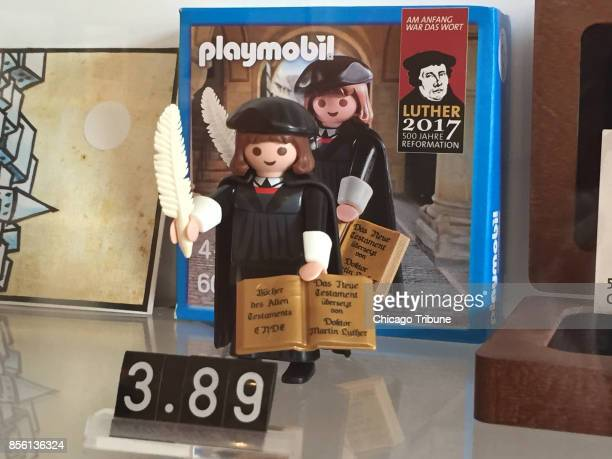 One of the many Martin Luther souvenirs visitors can find in Wittenberg which is expecting an influx of visitors for the 500th anniversary of the...