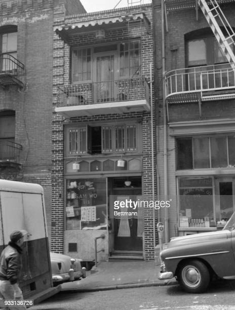One of the many picturesque businesses in Chinatown is Sam Wo's restaurant a tiny 12footwide building sandwiched between stores on a sloping street