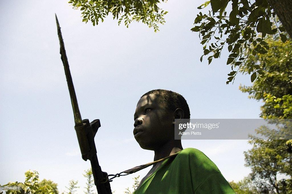 Ugandan Rebel Leader Joseph Kony Makes Rare Appearance : News Photo