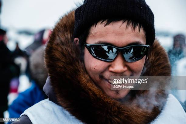 BAY INUKJUAK NUNAVIK QUEBEC CANADA One of the members of today's winning team from Puvirnituq Putugu Iqirquq Since 2001 Ivakkak has been an event...