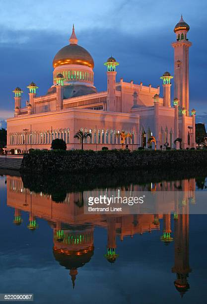 One of the most beautiful mosque of Bandar Seri Begawan Brunei