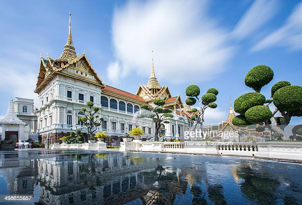 CONTENT] One of the most popular tourist attractions at the heart of BangkokRather than being a single structure the Grand Palace is made up of...